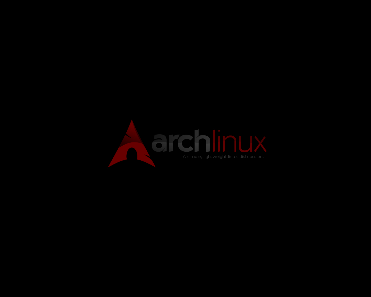 Archlinux_wallpaper_-_red by platinummonkey