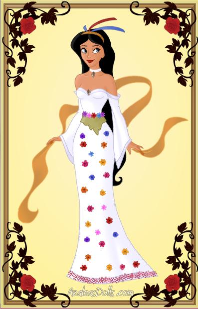 Pocahontas's Wedding Dress by disneyfanart1998 on DeviantArt