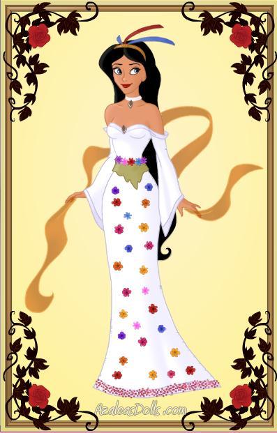 Pocahontas's Wedding Dress by disneyfanart1998 on DeviantArt