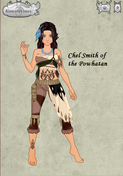 Chel of the Powhatan by disneyfanart1998 on DeviantArt
