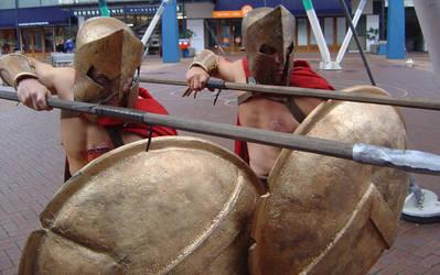 Spartan Warrior costumes by AnariaZar-Rel