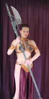 Princess Leia - Jabba's slave by AnariaZar-Rel