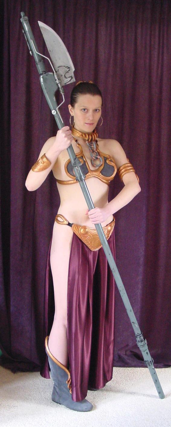 Princess Leia - Jabbau0027s slave by ...  sc 1 st  DeviantArt & Princess Leia - Jabbau0027s slave by AnariaZar-Rel on DeviantArt