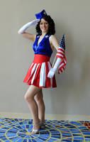 Captain America USO Girl by AnariaZar-Rel