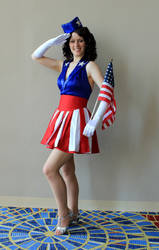 Captain America USO Girl