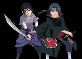 Sasuke and Itachi by bhavna-madan