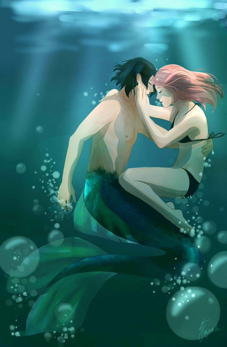 Merman by bhavna-madan on DeviantArt