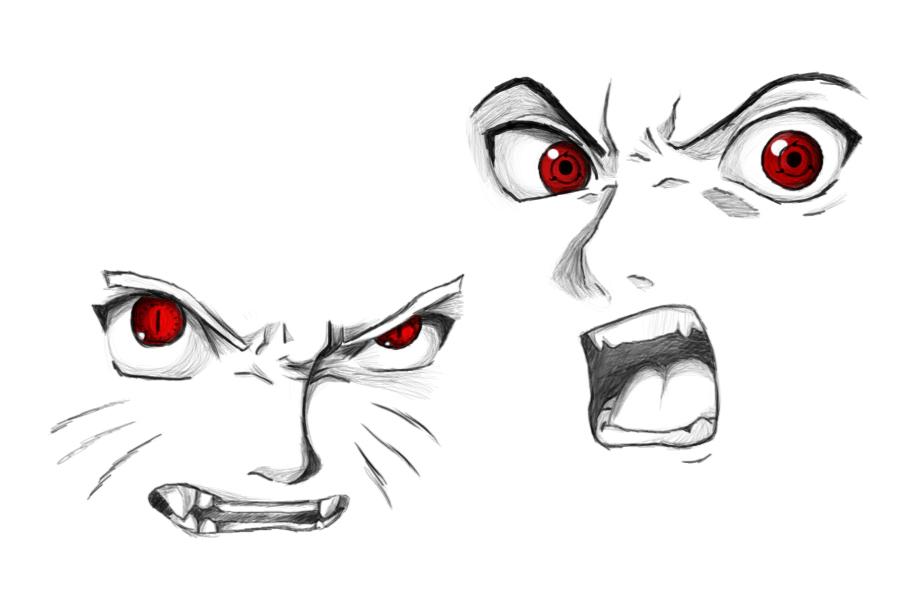 Character Study Sasuke Naruto By AnimeGoddezz