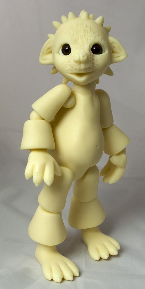 Spikey the hedgehog. an Anthro BJD by sboyayan