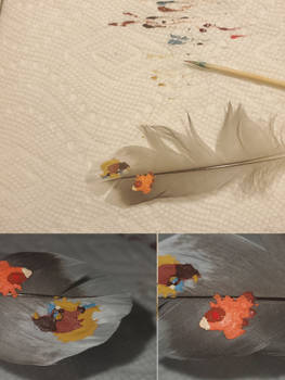 Painful Feather