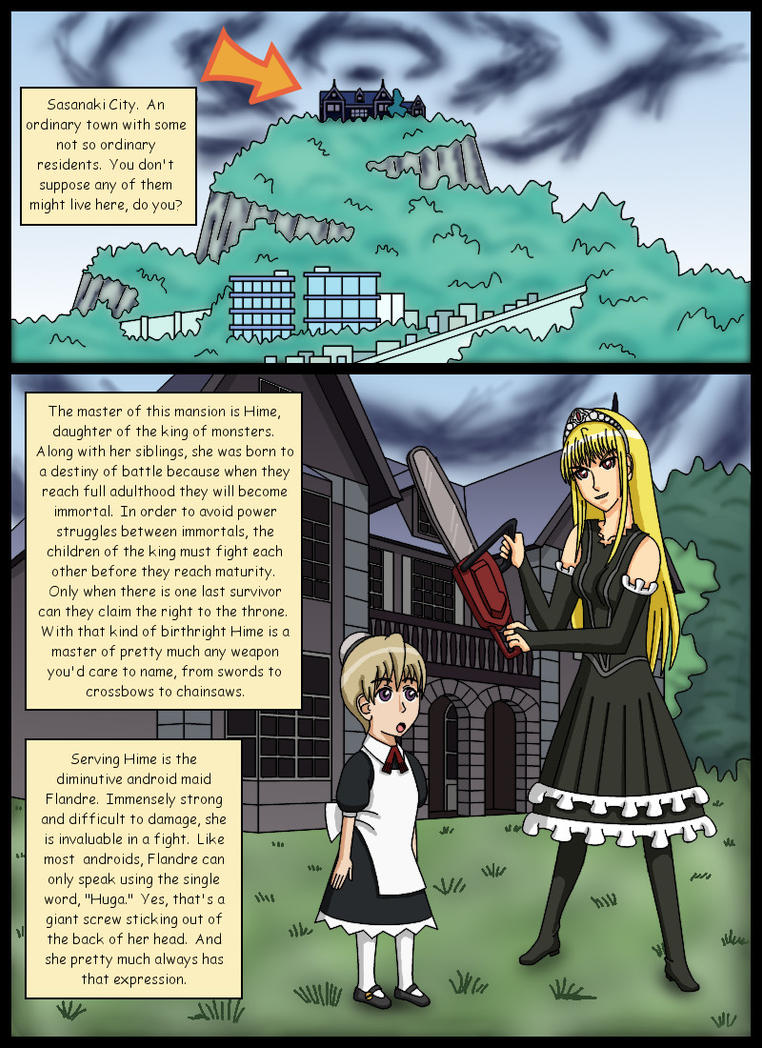 Princess Blackmail p. i (Introduction) by kessy-athena