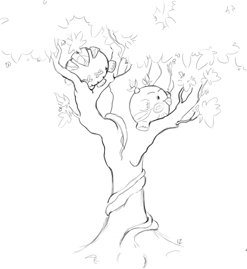 Dollies In Trees by Izmarvelous