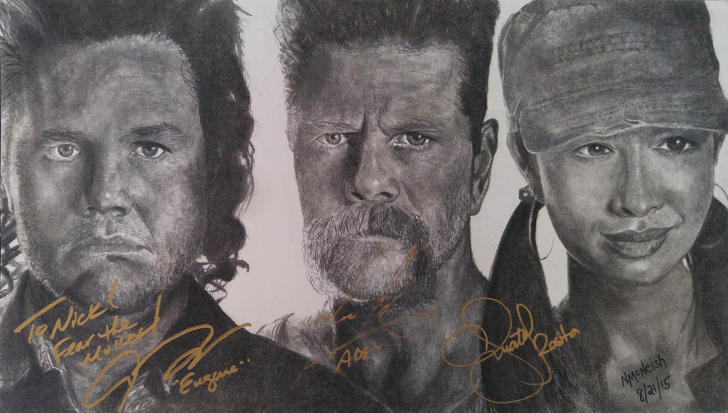 Abraham's Army (The Walking Dead) by TheAvatar1213