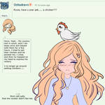 Roxie Answer #1: Have you ever Pet a Chicken? by PaperTsubaki
