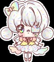 [FG] Sprinkle donut custom by PaperTsubaki