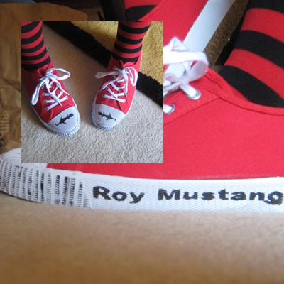 Mustang shoes. by NayaChicken