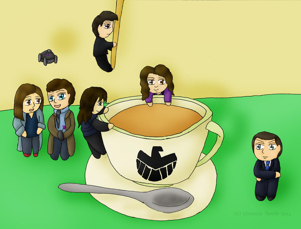 Tea with Agents of SHIELD by Phoneix-Faerie