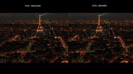 Comparaison Full HD - DVD