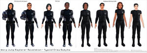 Warp Jump Explorer Revelation Crew Outfits