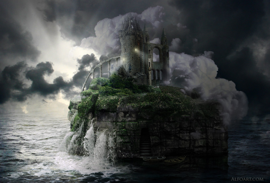 Stone Island. Sea scene by AlexandraF