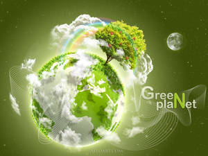 Earth Day. Green Planet.