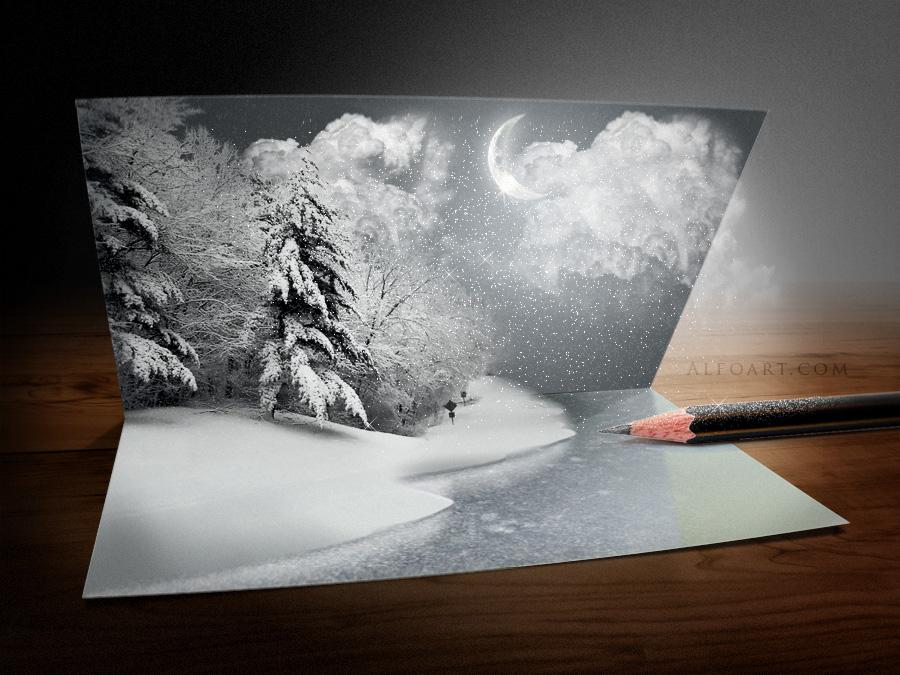 Christmas Card by AlexandraF