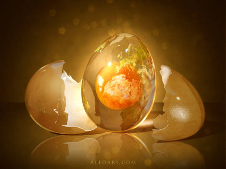 Egg Planet. by AlexandraF
