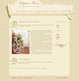 Elegant, Wallpaper template.