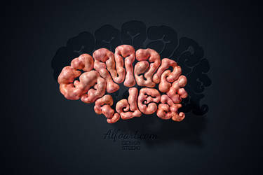 Brain Text Effect tutorial by AlexandraF