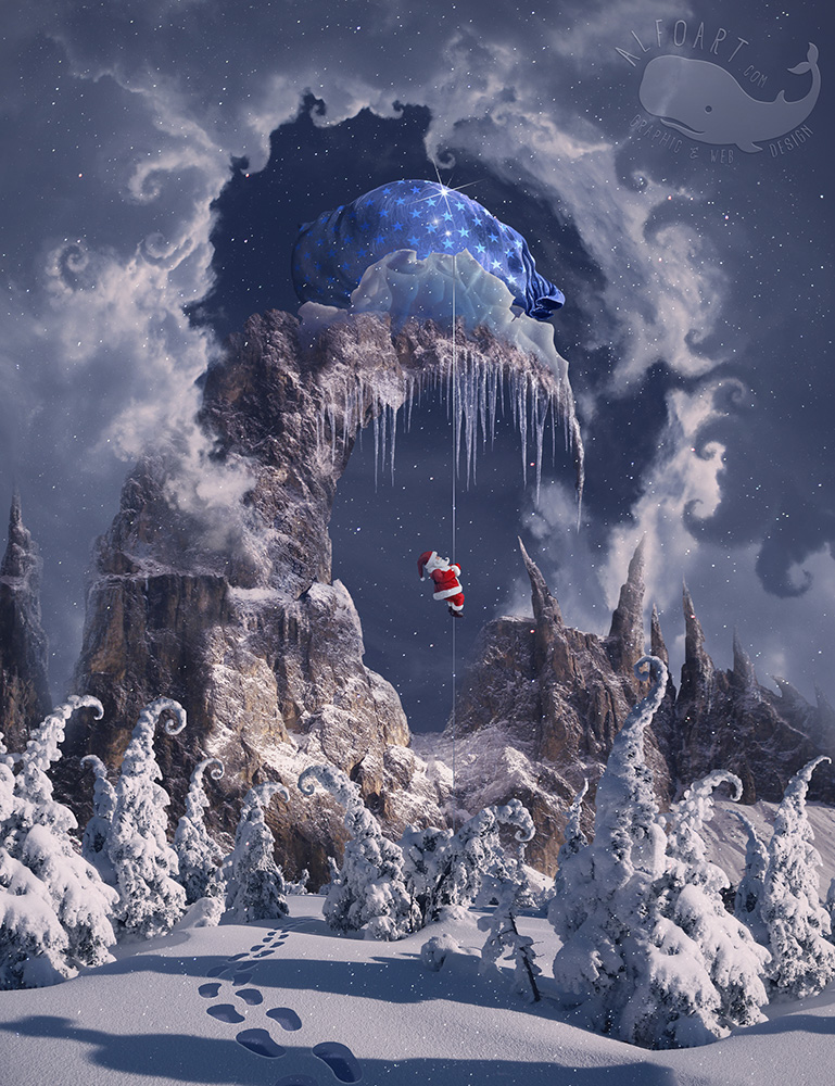 Christmas Gifts Mountain. by AlexandraF