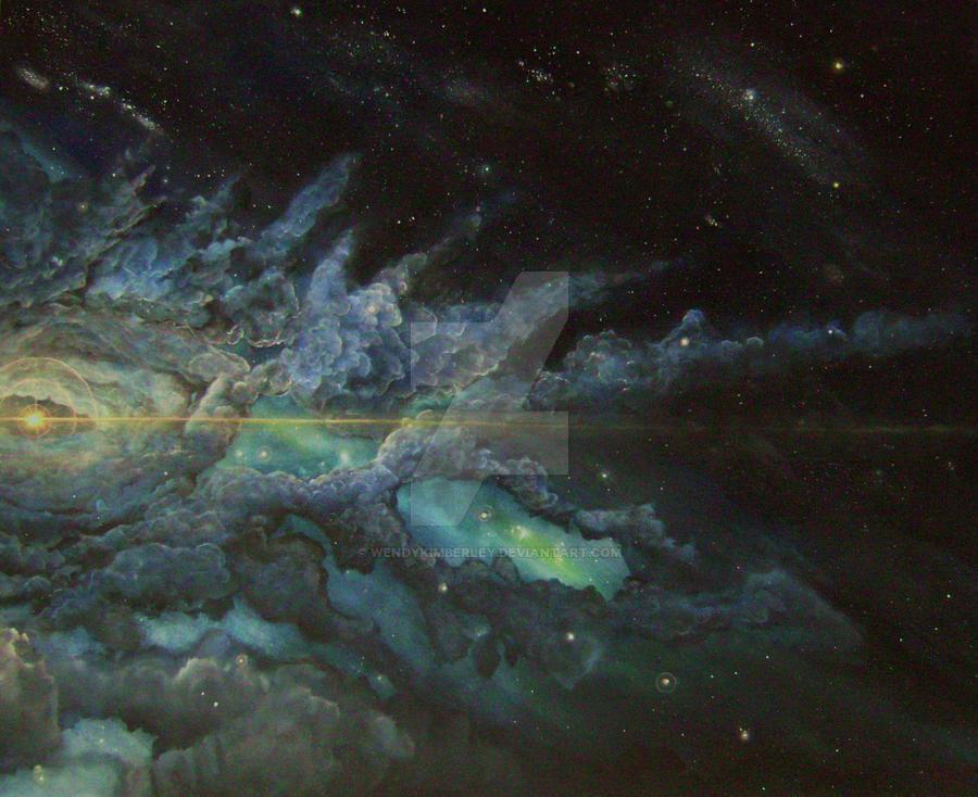 Dragons eye nebula (2010) by Wendy Kimberley by WendyKimberley