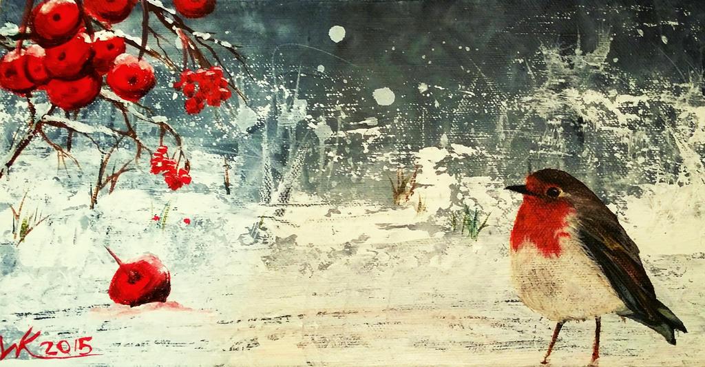 Red berries (2015) by WendyKimberley