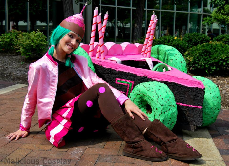 Sugar Rush Candlehead Cosplay, Wreck It Ralph by Malicious-Cosplay