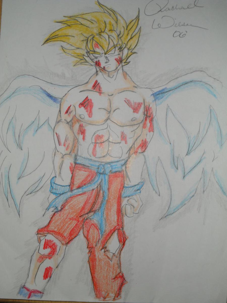 Super Saiyan Goku by HotIceHilda2011