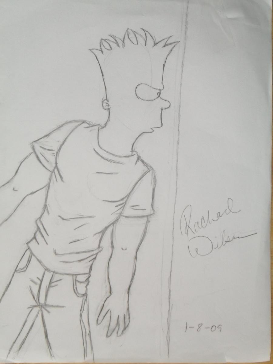 Sneaking Bart by HotIceHilda2011