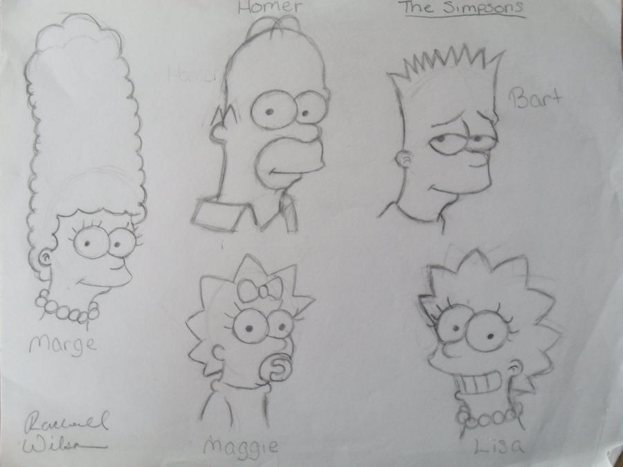 The Simpsons by HotIceHilda2011