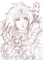 40k Sister of battle portrait by Auzzymo