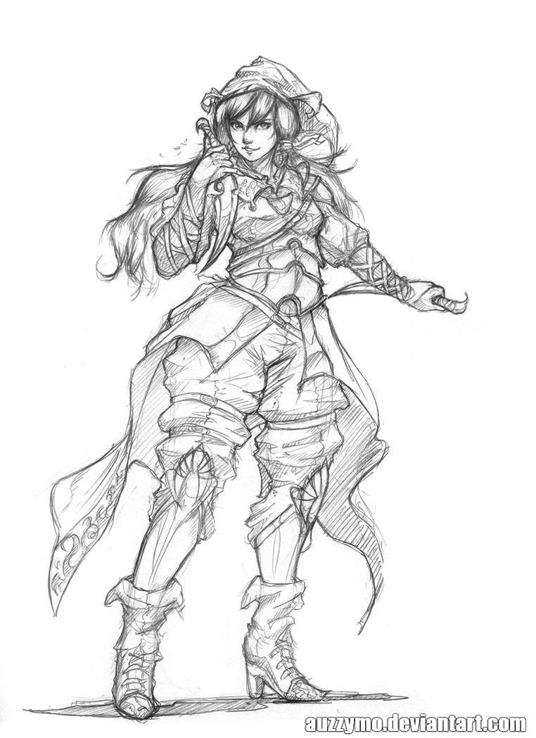 random character 8 by Auzzymo
