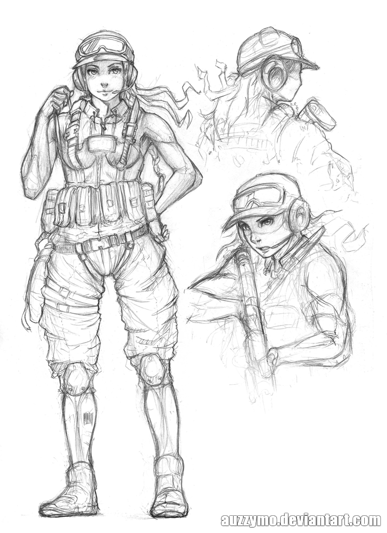 random character 9 by Auzzymo