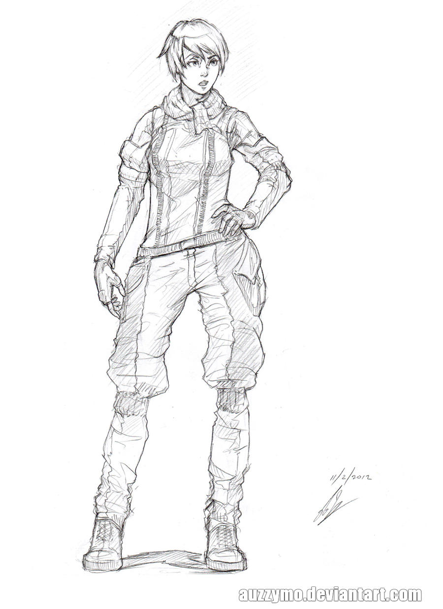 soldier sketch 1 by auzzymo on deviantart