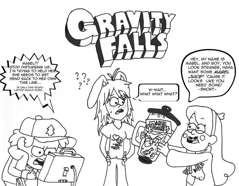 Gravity Falls style by UsagiTail