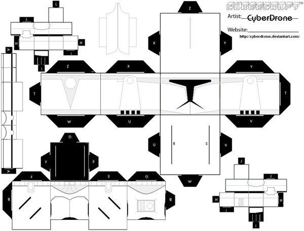 Cubee - Clone Trooper by CyberDrone