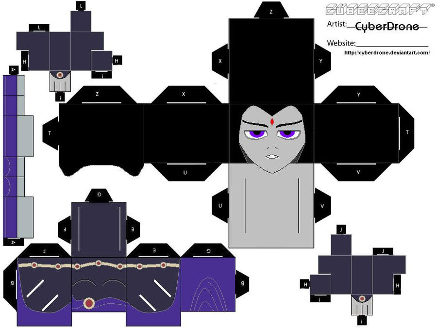 Cubee - Raven by CyberDrone