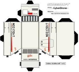Cubee-Shuttlecraft Galileo pt1