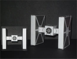 Tie Fighter Cubee by CyberDrone