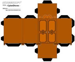 Cubee - A Narnia Wardrobe by CyberDrone