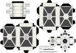 Cubee - TIE Fighter 'White'