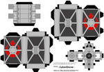 Cubee - TIE Fighter 'Rebel'