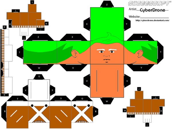 Cubee - Oompa Loompa by CyberDrone on DeviantArt