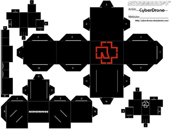 Cubee - Rammstein by CyberDrone